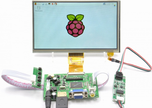 Raspberry pi 7 inch touch screen calibration