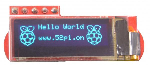 0 91 OLED (English) - 52Pi Wiki