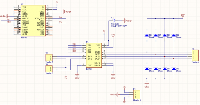 Raspberrypi L298n Motor Driver Boardenglish 52pi Wiki