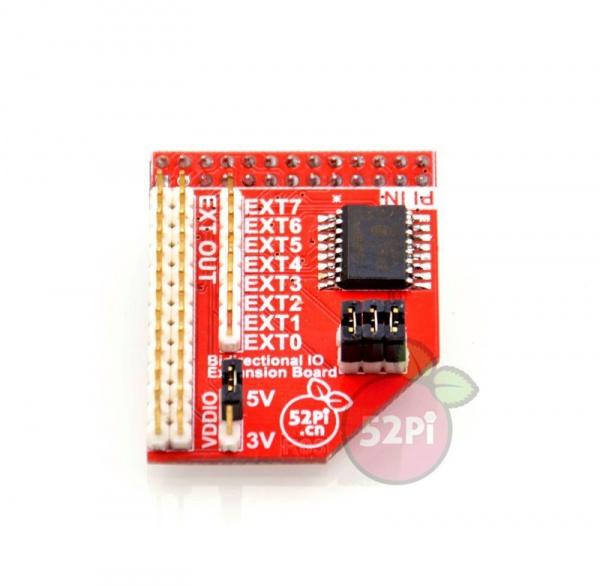 Raspberry Pi I2C-IO Expand Module(English) - 52Pi Wiki