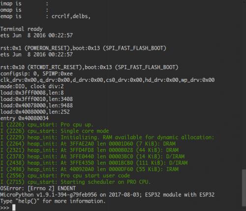 GeeekNET ESP32 Development Board SKU: EZ-0062 - 52Pi Wiki