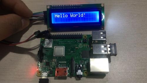 1602 Serial LCD Module Display SKU:Z-0234 - 52Pi Wiki