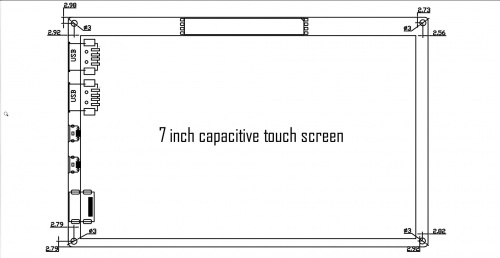 7-Inch-1024x600 Capacitive Touch Screen (Extend Two USB HOST Port