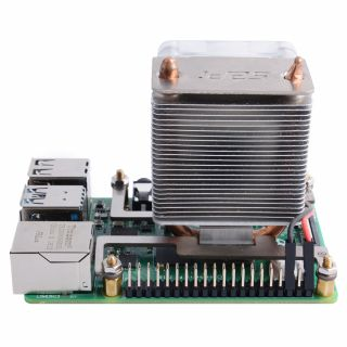 ICE-Tower CPU Cooling Fan for Raspberry Pi SKU: EP-0107 - 52Pi Wiki